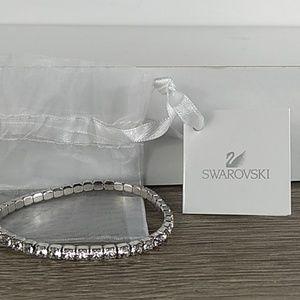 🆕 Swarovski silver stretch tennis bracelet